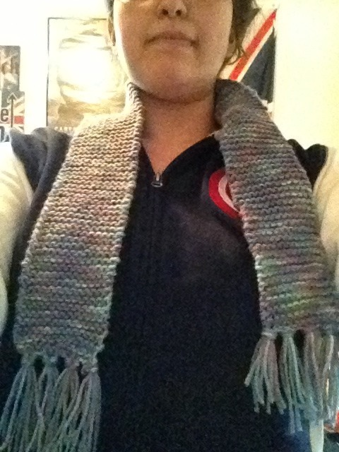 Finished Carmie's scarf for her~