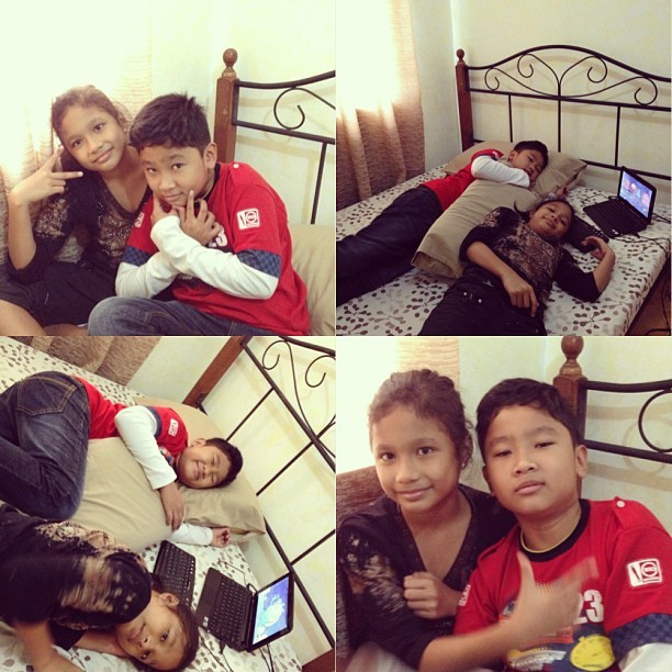 Pamangkins are here! @ryan_masiglat1980  👫❤