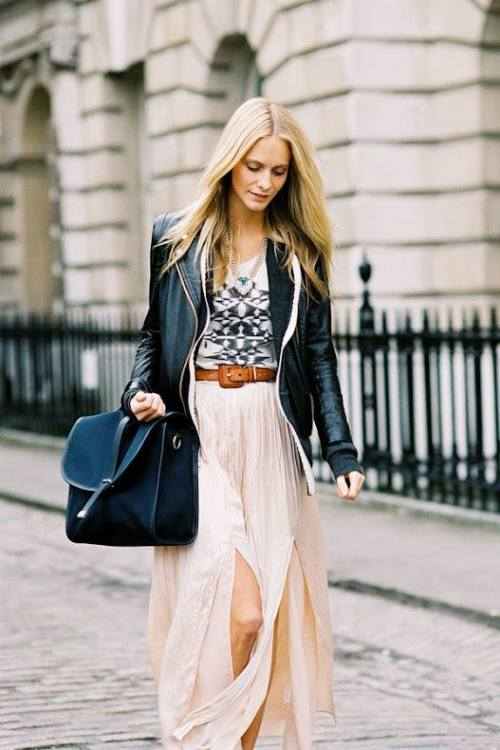 whowhatwear:  Ask A Stylist: How do I style my double-slit skirt? Click for celeb stylist Emily Current & Meritt Elliott's suggestions!