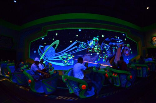 Disney's Magic Kingdom Buzz Lightyear Ride - by Michael Kappe