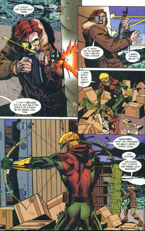 sinnaidle:  Green Arrow, vol. 2 #112