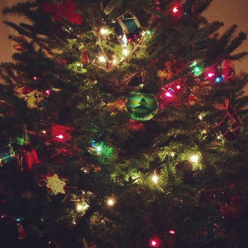 very-merry-christmas:  my christmas tree! :)