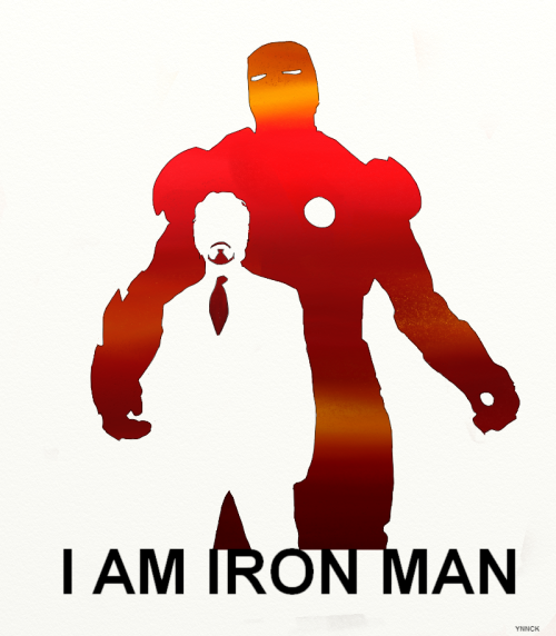 I AM IRON MAN : AVENGERS by ~Ynnck