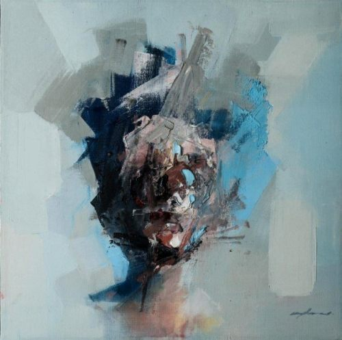 "rfmmsd:  Artist: Ryan Hewett ""FIND ME ON THE OTHER SIDE"" 50 cm x 50 cm Oil on Canvas."