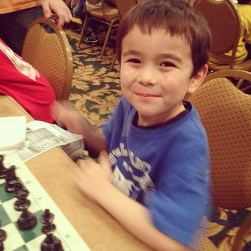 Toshi of The #ParkSlope School @PSMS282 at round 5 of chess nationals. #iam282 #fb (at Gaylord Opryland Resort)