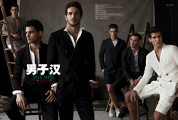 The Men-GQ China. Photographed by Mariano Vivanco.