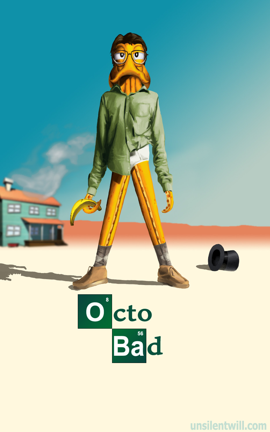 tigsource:  Octodad/Breaking Bad Fanart, by unsilentwill Source