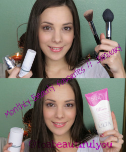 Monthly Beauty Favorites// January