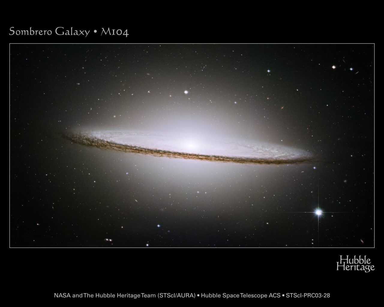 The Sombrero Galaxy!