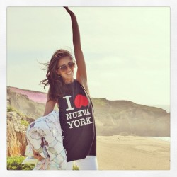#ontopoftheworld :) @31philliplim tee in #halfmoonbay yesterday #beachstyle #springstyle #fashionblogger #instafashion #fashion #beach #ootd #ootdmagazine #whatiwore #vfbestdressed