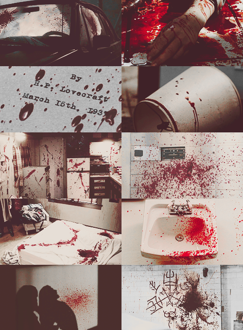korlovs:  100 supernatural things [43/100]  Blood Splatter  Supernatural Blood Splatter!