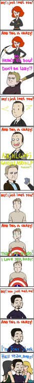 fishcustardandthecumberbeast:  quiet annoying song by ~RinGreen Oh Tony…..