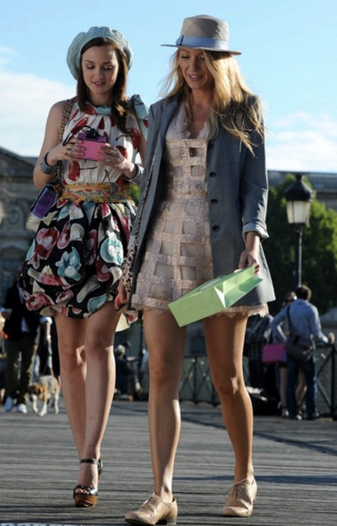 glamour:  6 important style lessons we learned from Gossip Girl.