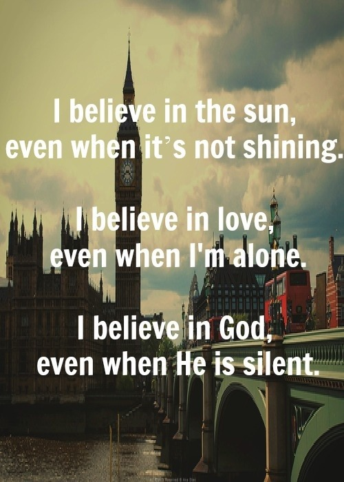 Just believe… on @weheartit.com - http://whrt.it/XcvmTl