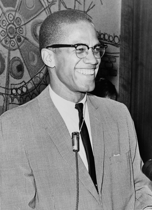 hip-hop-influence:  Happy born day to El Hajj Malik El-Shabazz a.k.a Malcolm X