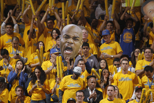 "officialwarriors:  ""When we ran out of the tunnel, I had to stand back and soak it all in for a second… I just really had to stand there & take it all in. It was an awe-struck moment… Best fans I've ever been around & I'm glad we get to reward them with a positive performance."" - Jarrett Jack, on #DubNation and the #WarriorsGround atmosphere"