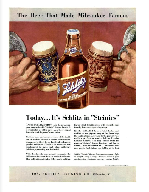 Schlitz - 1937 Credit: killingtime2 (Lori Strobel) on Flickr
