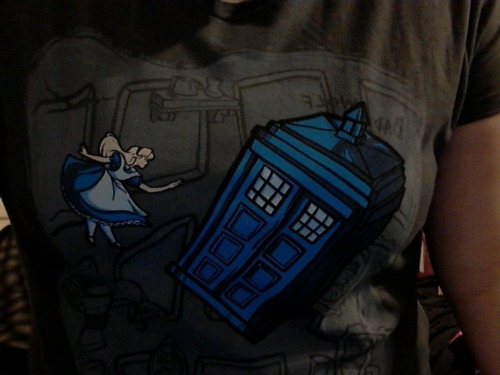 My teefury shirt finally came in the mail today! Weeeeee!!!