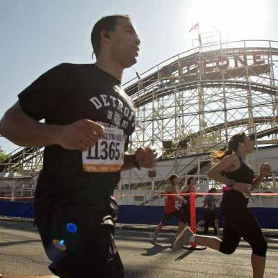 This weekend, Coney Island will serve as the finish line for the NYRR's Brooklyn Half Marathon.  In what will be the biggest event in the area since Hurricane Sandy, the race is symbolic of the ongoing work of recovery in our neighborhood.  And thanks to the generosity of the New York Road Runners and the race participants, we're also raising resources and awareness for the neighborhood.  See you on the Boardwalk!