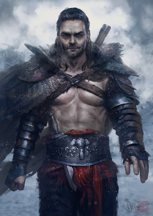 theundeadavenger:  God of the Arena by =saharaam