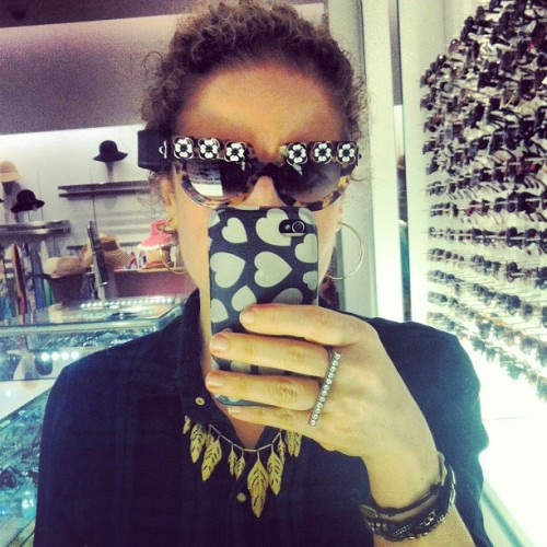 What do we think of these Miu Miu #sunglasses??? Awesome, right?!! @SchoonerHays #fashion #justkidding #style #photooftheday #instagood #fashiondairies  (at Saks Fifth Avenue)