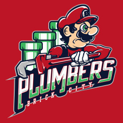 gamefreaksnz:  Plumbers by CoDdesigns  is $10 today only (2/9) at ShirtPunch