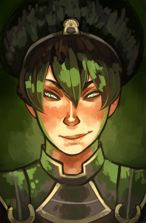 emiismadeoffart:  Commission of Toph for the lovely Tophbreaker! :D Thank you so much for commissioning me! it was really fun to draw <3