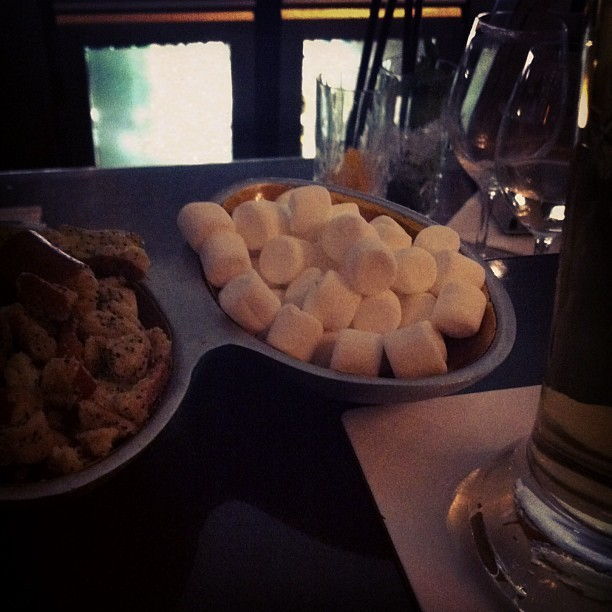 First time I've ever encountered marshmallows as bar snacks.