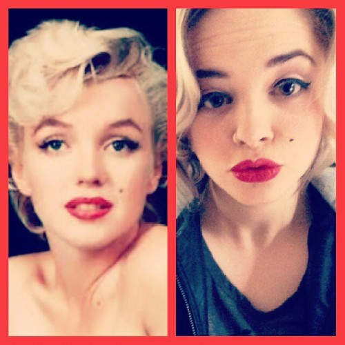 #makeup #1950s #50s #50slook #marilynmonroe #makeupartist #mua #nicolemclarenmakeupartist #makeupbyme #model