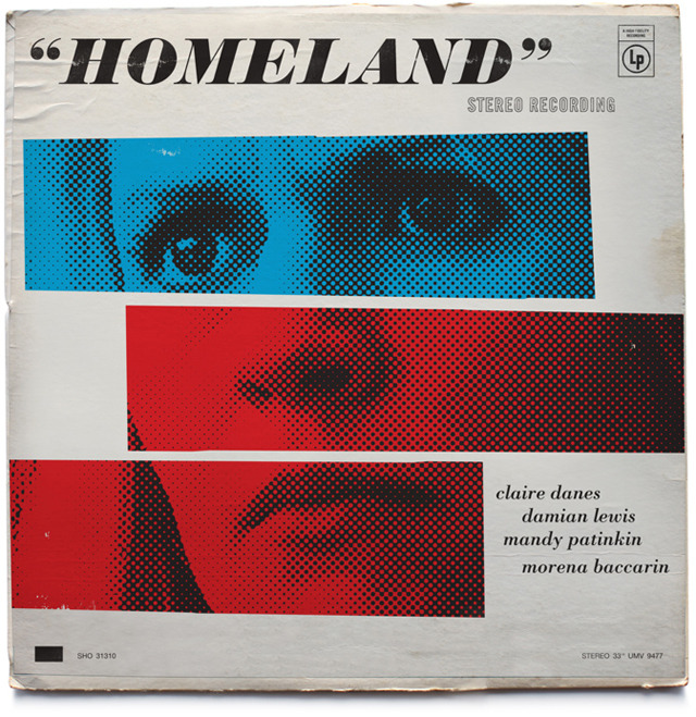 Vintage Jazz Record Covers Inspired by The Television Show Homeland