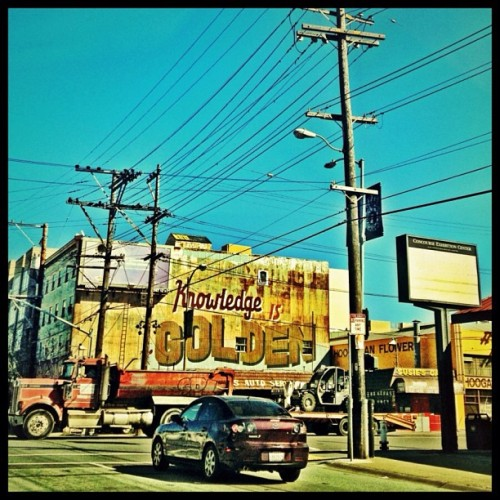 A sunny day in San Francisco #sanfrancisco #sf #igerssf #billboard #truck #car #street