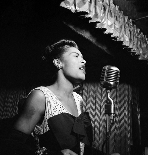 Billie Holiday born Eleanora Fagan on April 7, 1915
