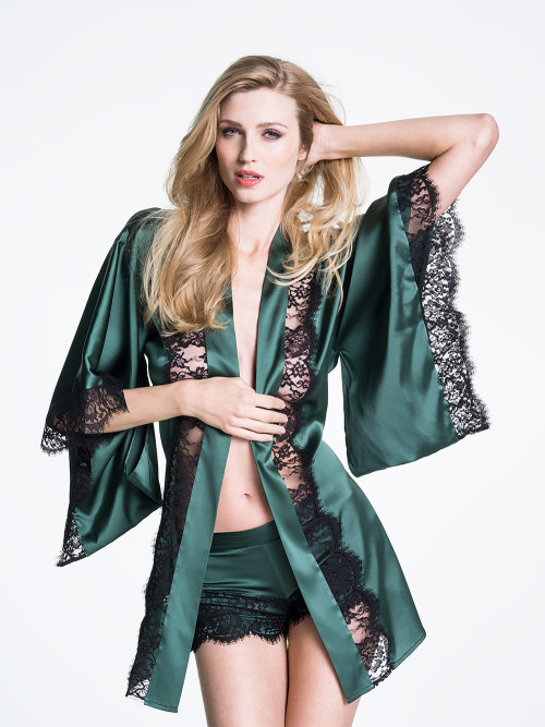 'Siren' Short Robe 50% off at Myla Lingerie