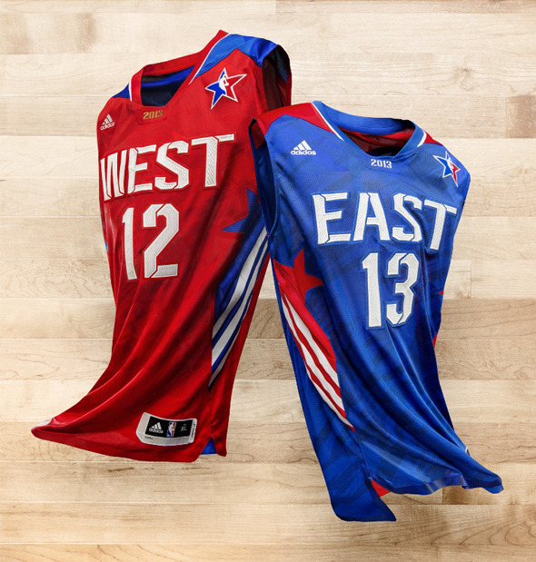 nbaoffseason:  2013 NBA All-Star Jerseys