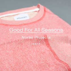 Good For All Seasons | Norse Projects SS13 | In-store and Online at Weavers Door - http://www.weaversdoor.com/brand/norse-projects.html