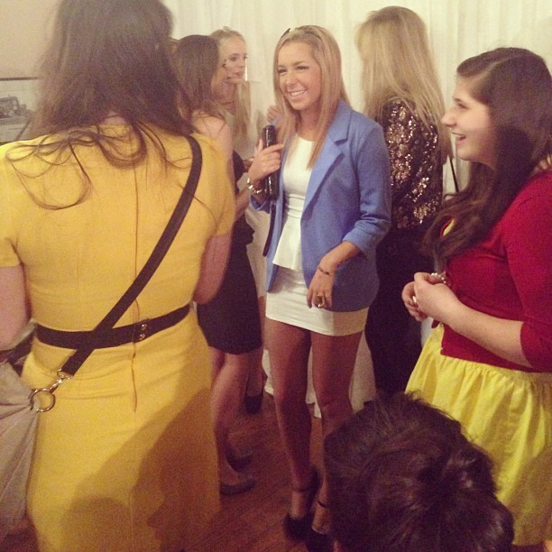 Met so many cute DisneyBounders last night ❤💛 #disneybound #disney #fashion