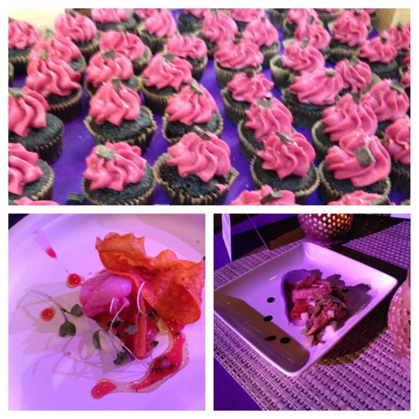 #picstitch #dishitup #purp #yum #cupcakes #scallops #duck  (at WHYY, Inc.)