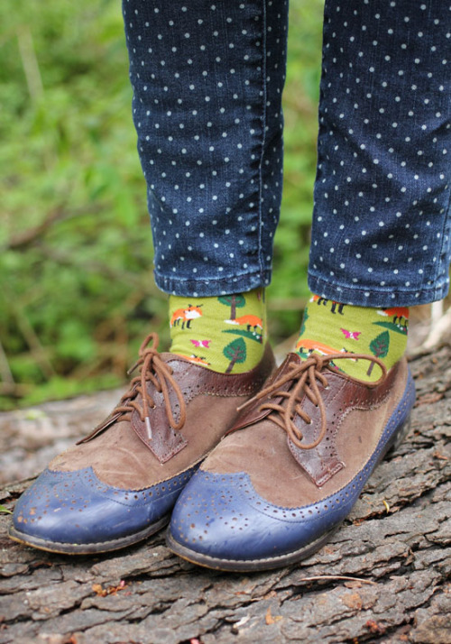 thedaintysquid:  (via The Dainty Squid)  sara cate needs these socks