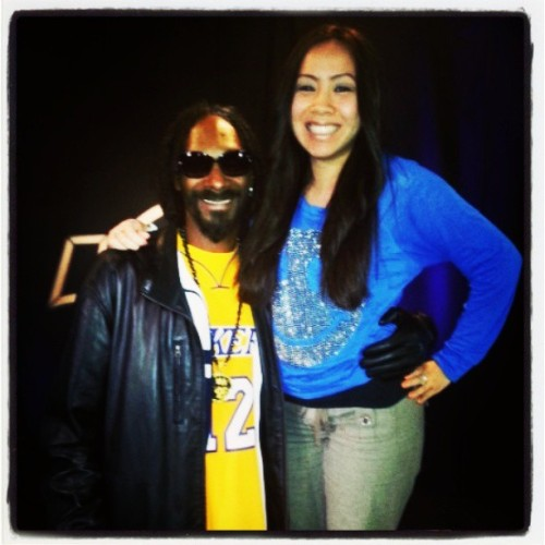 THE legend, O.G, Snoop D.o double G. @snoopdogg aka Snoop Lion!! He's so damn funny LOL He said we looked like prom dates in this pic lol #legend #westcoast #reincarnated #oneofthegreatest #music #musiclegends #wow #igeekedout #rockstar