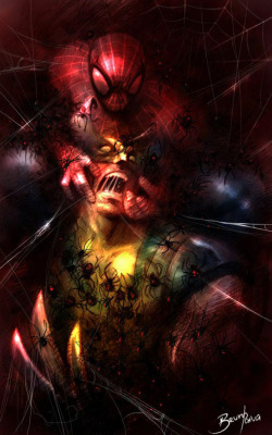 Spider Man and Wolverine by ~BrunofPaiva —-x—- More: | Marvel | Random |