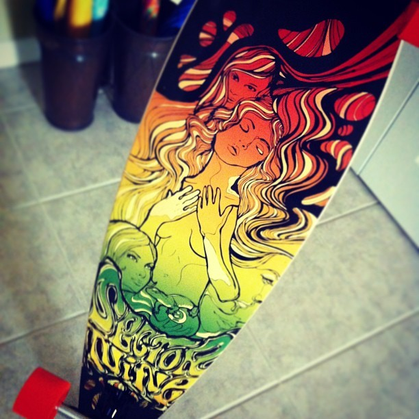 Well hello there 😏 #longboard