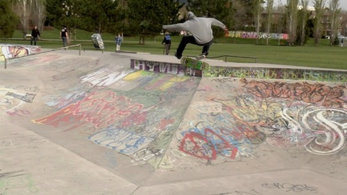 360 flip by Brock Ramsay