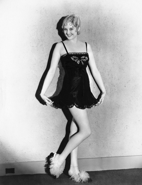 Thelma Todd and her awsome slippers