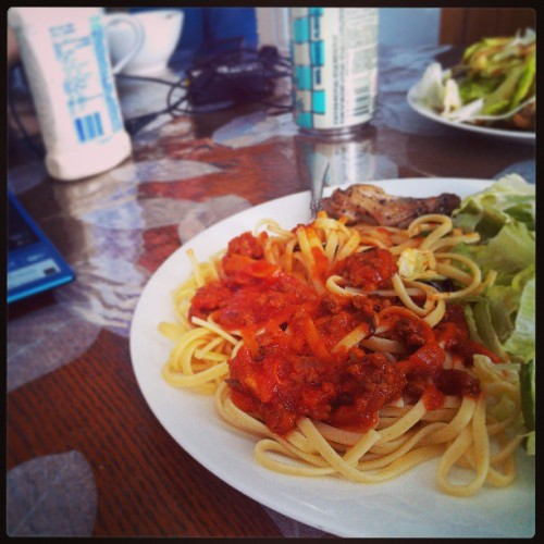 @janine_9 's #homemade #dinner #pasta