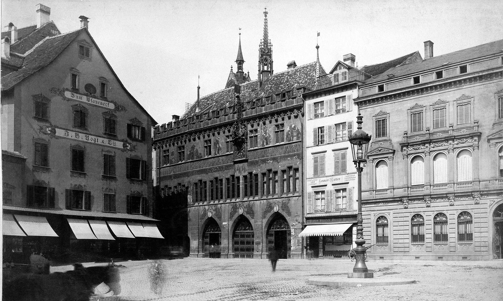 The City Hall Square, Basel