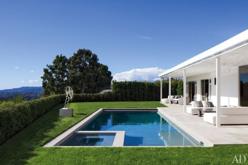 ELTON JOHN AND DAVID FURNISH'S BEVERLY HILLS HOME