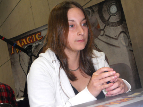 mtgfan:  Melissa DeTora  The first woman to Top 8 a Pro Tour