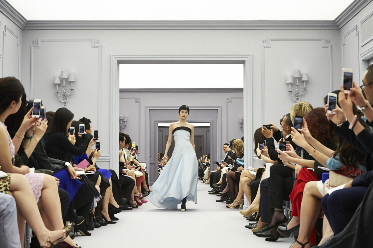 Christian Dior Couture SS13 in Shanghai  Saturday March 30th 2013, Five on the Bund  He Sui  Produced and directed by Bureau Betak  Photo by Ian Tong