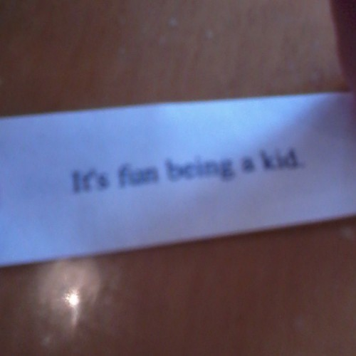 Yes yes it is #Chinesefood #fortunecookie #personalmar