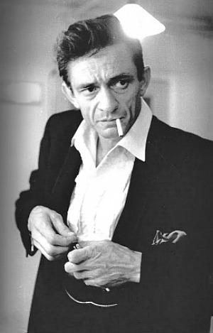 Johnny Cash photographed by Jan Olofsson, c. 1966